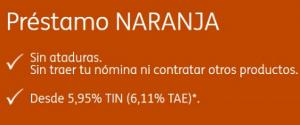 opiniones y ventajas del préstamo naranja de ING